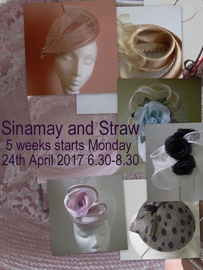 Sinamay and Straw